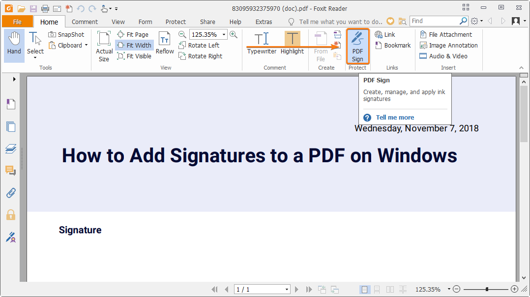 How to create a handwritten signature for your PDF?