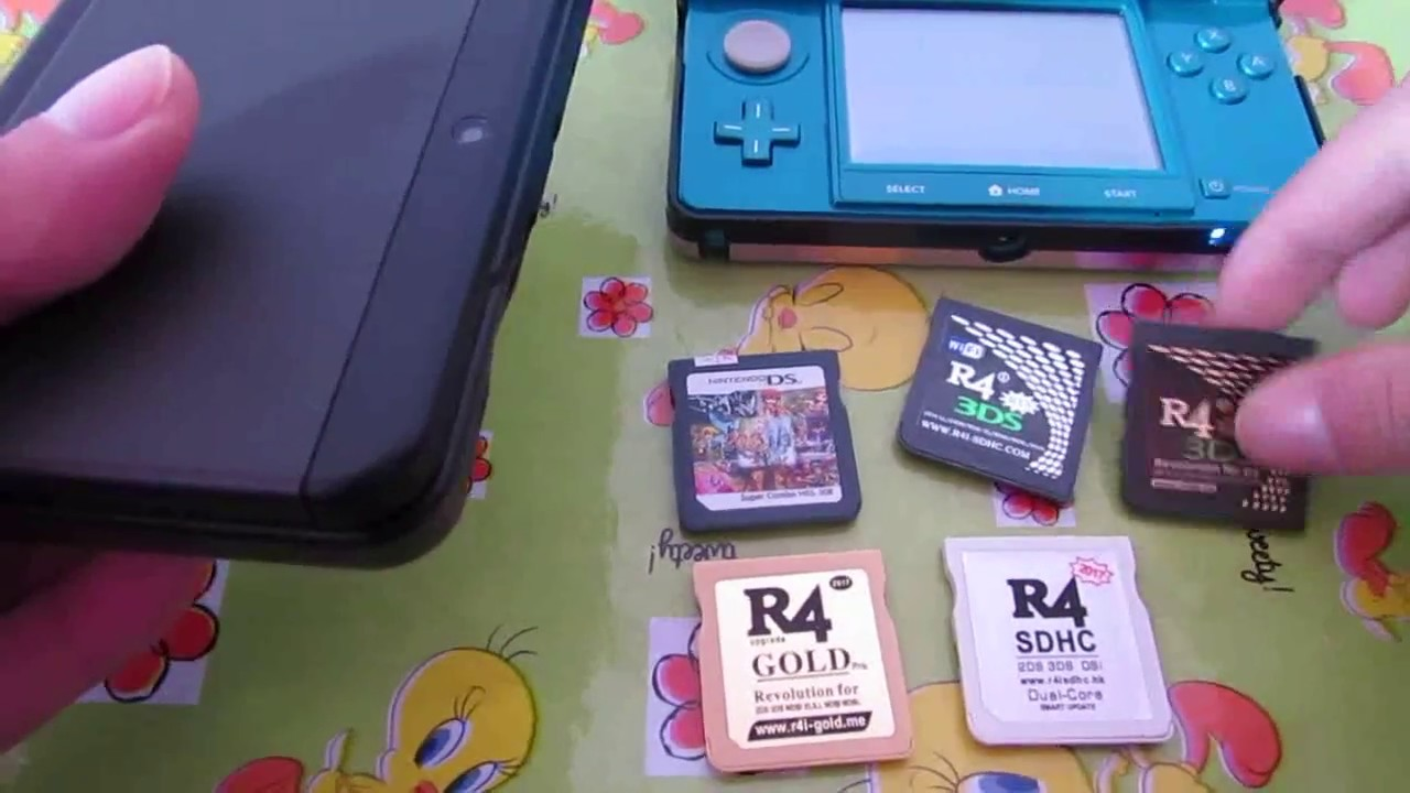 R4 3DS VS Sky3DS + | Which 3DS flashcard we will buy to hack New 2DS XL in France